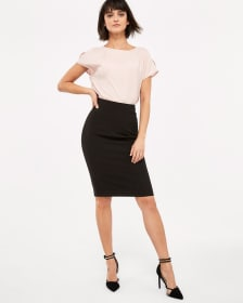 Willow & Thread Suiting Pencil Skirt