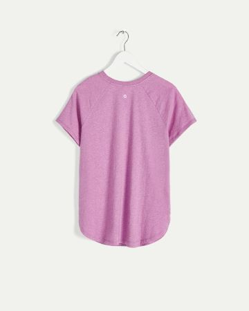 Organic Cotton Crew Neck Tee Hyba