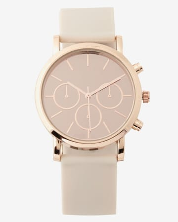 Light Pink Wristwatch