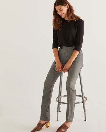 The Iconic Jacquard Pull On Pants - Petite