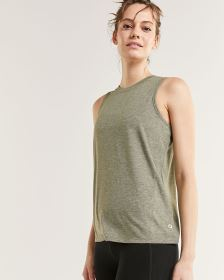 Sleeveless Crew Neck Top Hyba