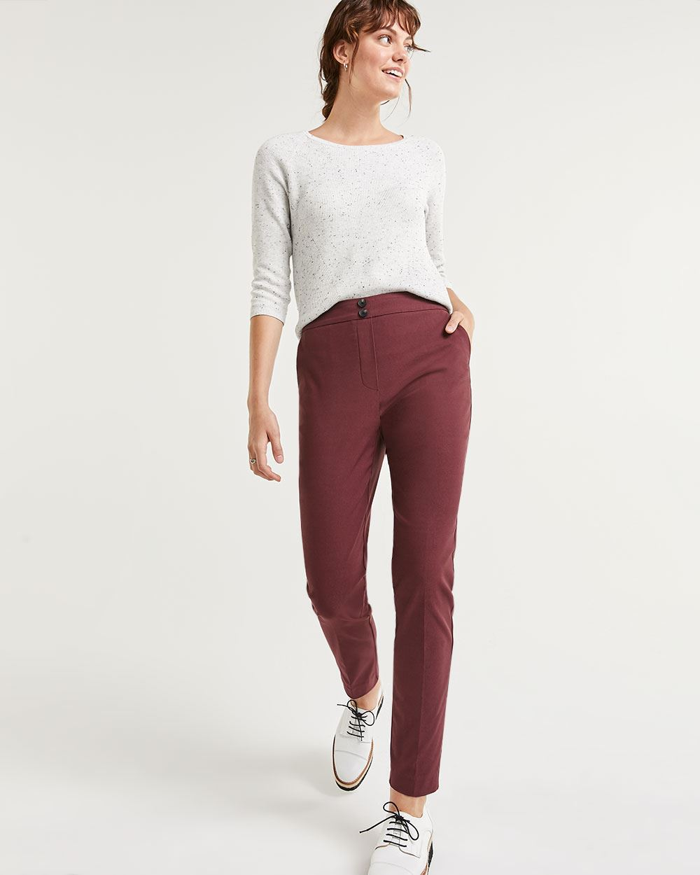 Super High Rise Slim Pull On Pants The Iconic