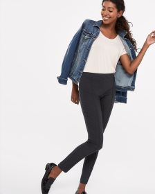 The Petite Iconic Grey Melange Leggings