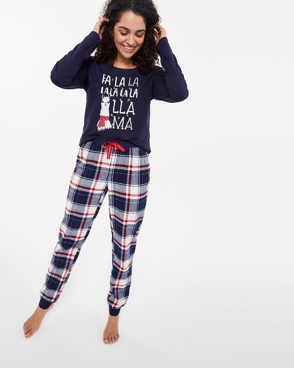 Ensemble-pyjama en coton imprimé  72dbe0b6338
