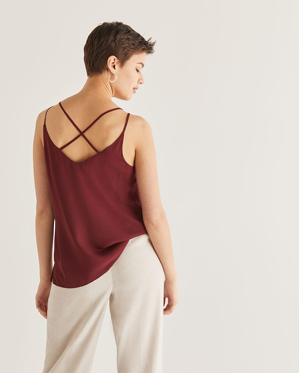 Camisole à doubles bretelles Willow & Thread