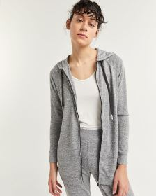 Hooded Tunic Jacket with Pockets Hyba