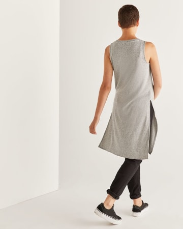 Side Slit Rib Tunic