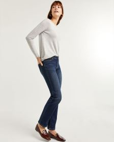 The Insider Dark Wash Straight Leg Jeans