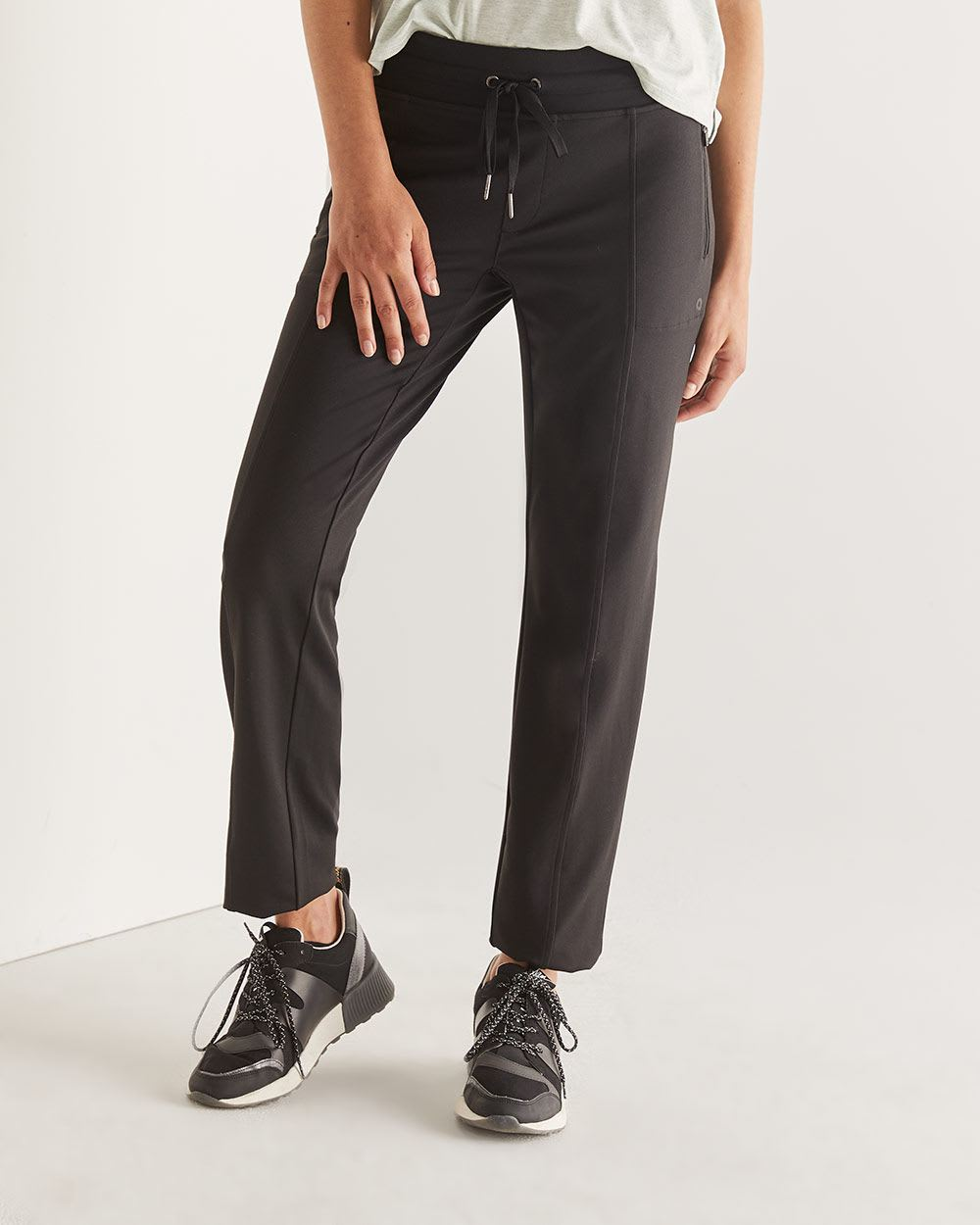 Hyba Urban Black Slim Pants - Tall