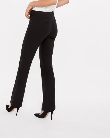 The Tall Iconic Boot Leg Solid Pants