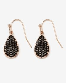 Rhinestones Drop Earrings