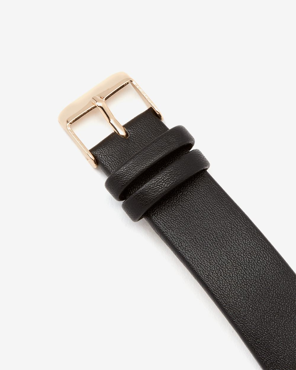 Black and Gold Wristwatch