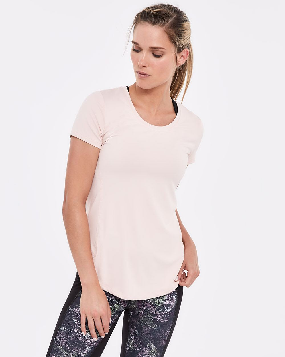 Hyba Jacquard Train T-Shirt