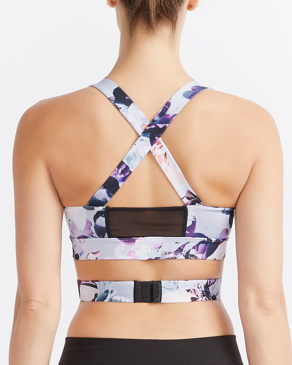 Hyba Printed Wrap-Around Low-Support Sports Bra