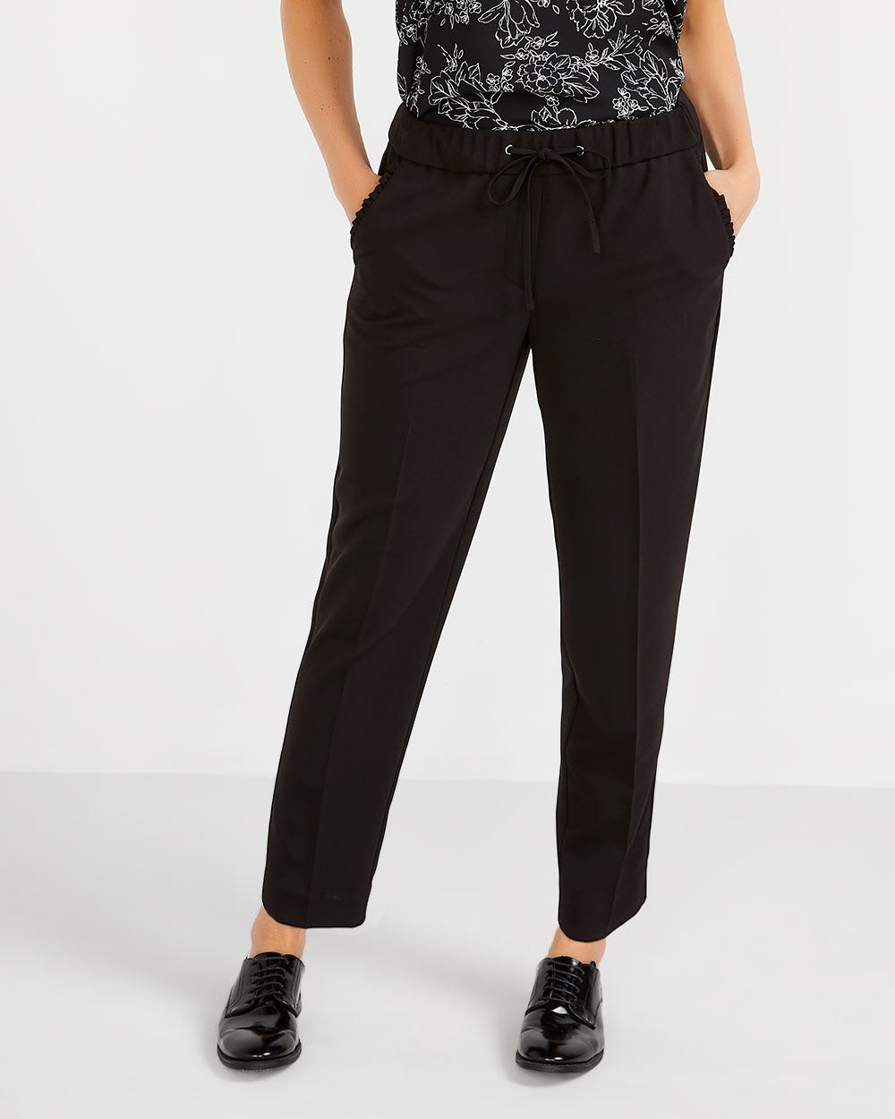 Tall Drawstring Ankle Pants