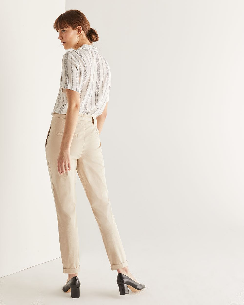 Belted Chino Pant - Petite