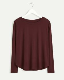 Long Sleeve Boat Neck Tee R Essentials