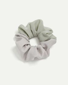 Pastel Pattern Scrunchie