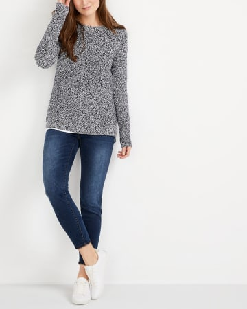 High-Low Hem Sweater