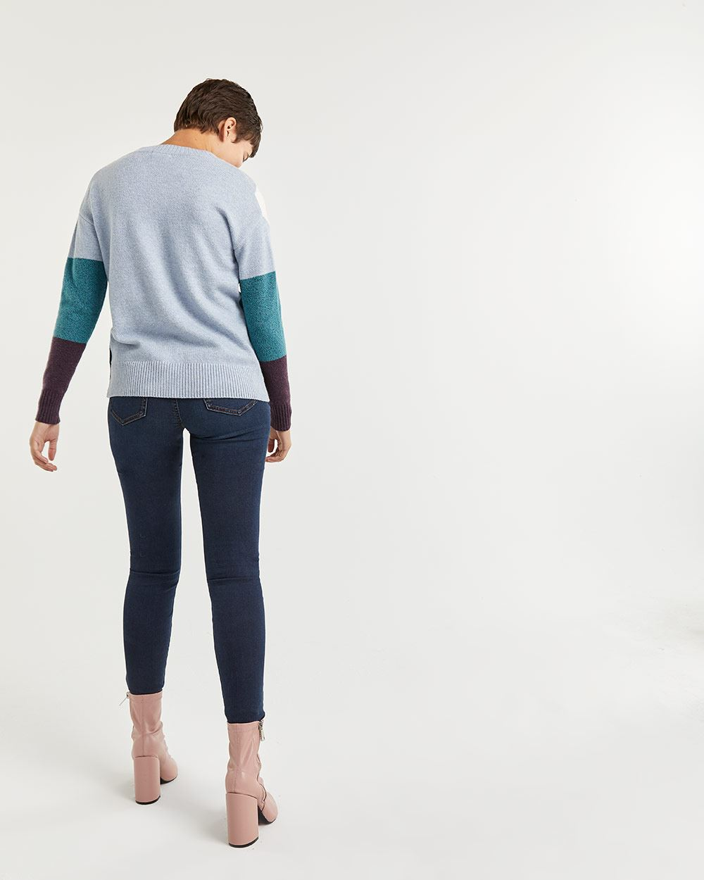 Scenery Pattern Sweater