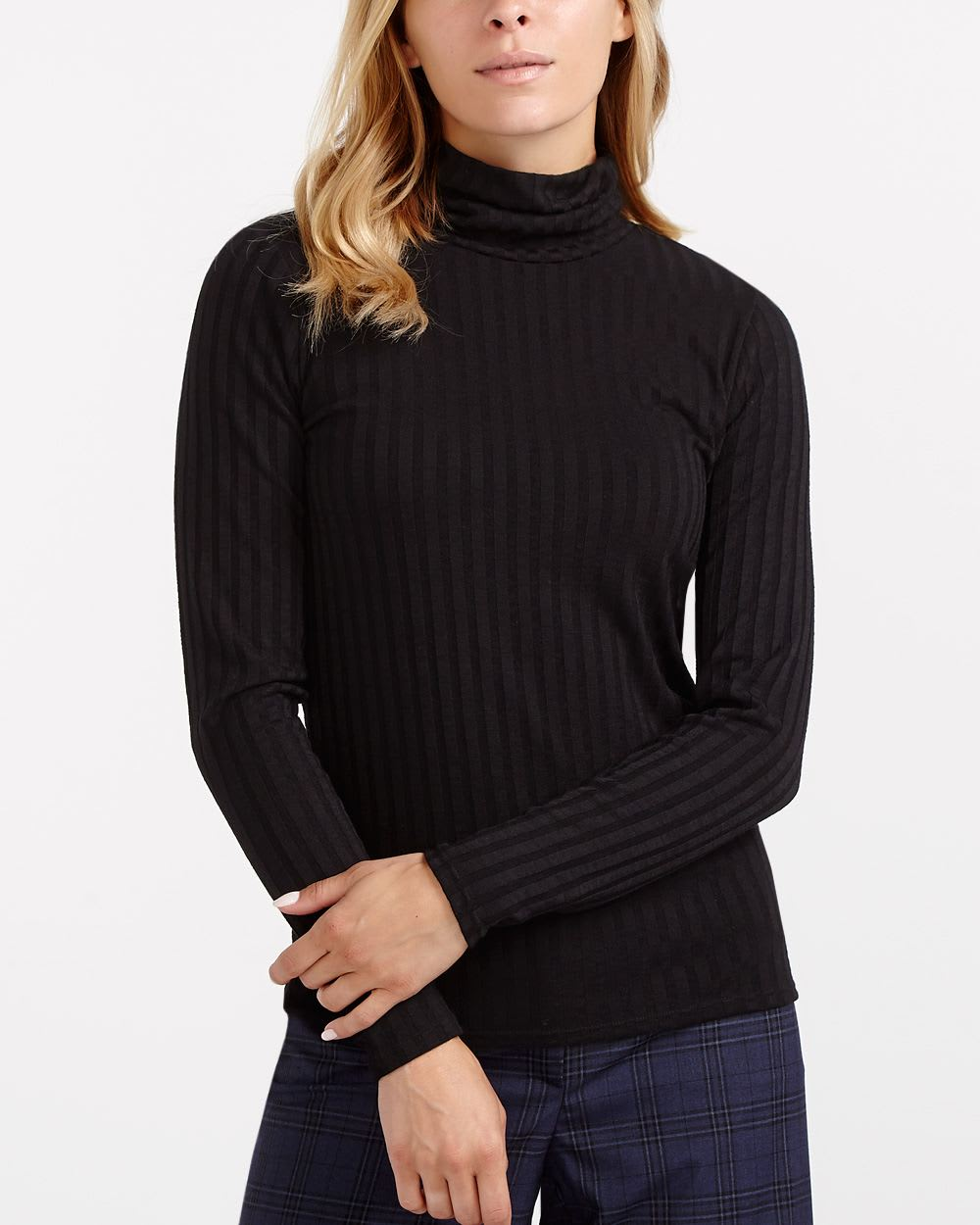 Long sleeve turtleneck t shirt women reitmans for Turtleneck under t shirt