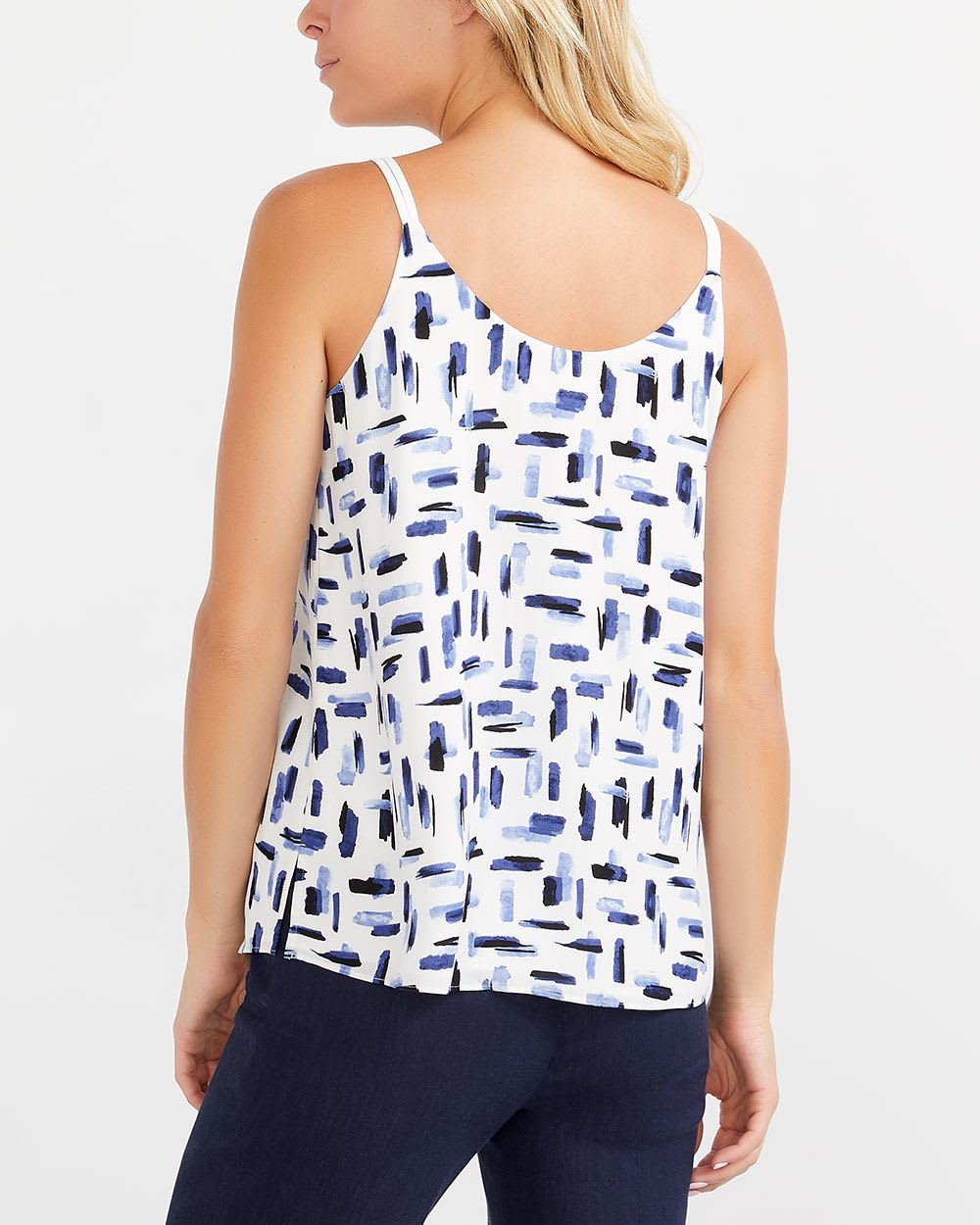 Willow & Thread Strap Printed Top