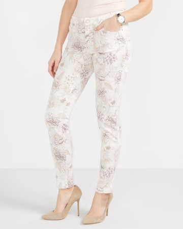 Tall Printed Skinny Jeans