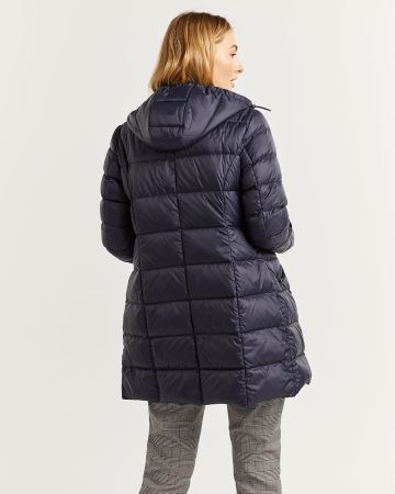 Long Lightweight Down Coat