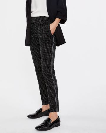 a01e0cd79d4 The Iconic Slim Leg Pants with Contrasting Band