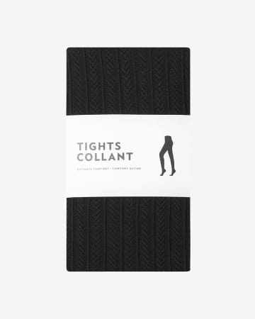 Collant texturé