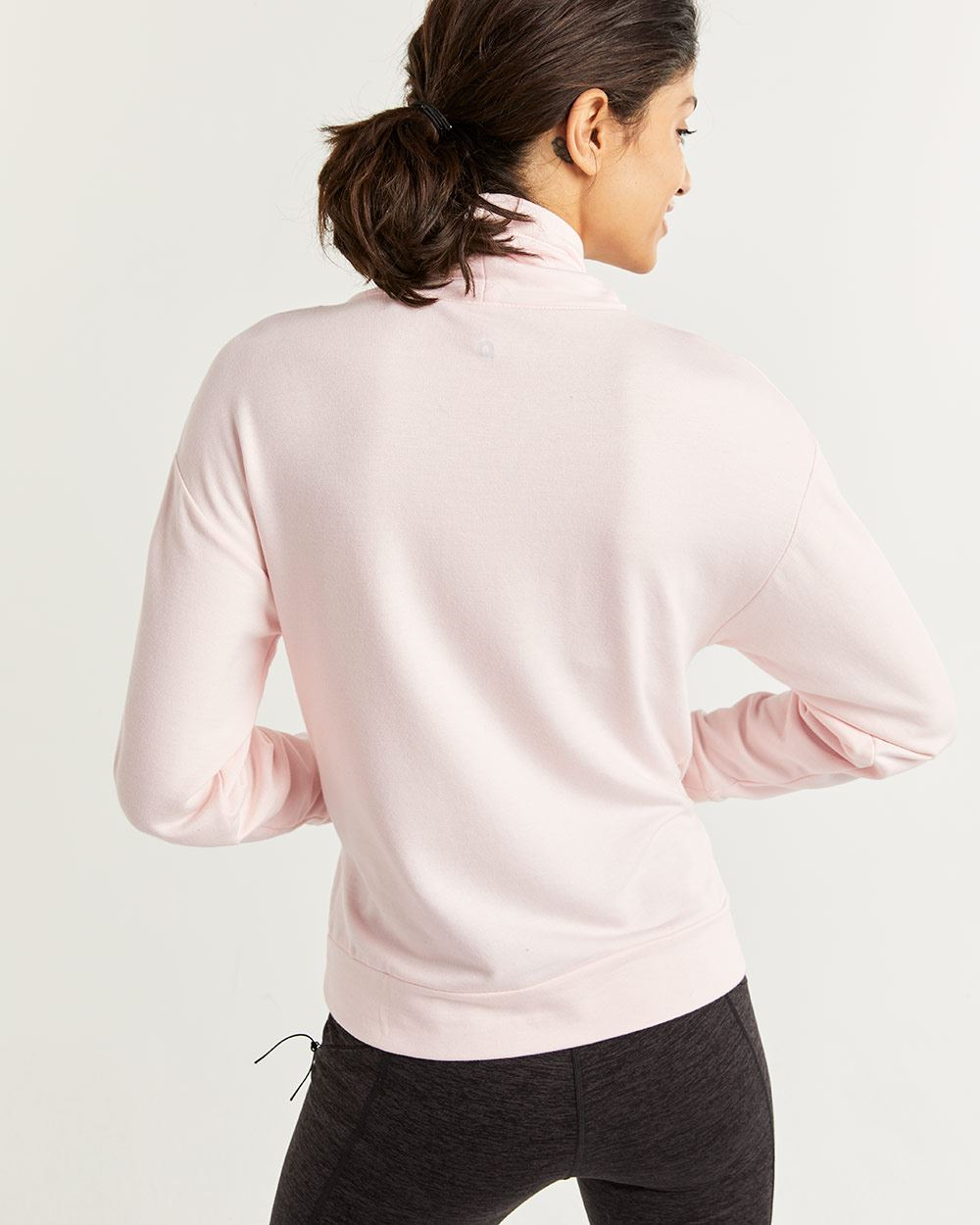 Hyba Soft Fleece Cowl Neck Sweatshirt