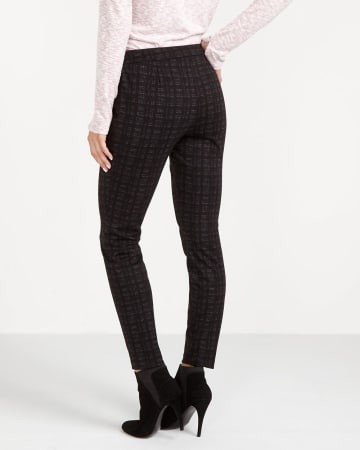 Petite Plaid Novelty Leggings