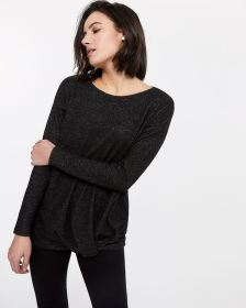 Long Sleeve Twisted Top