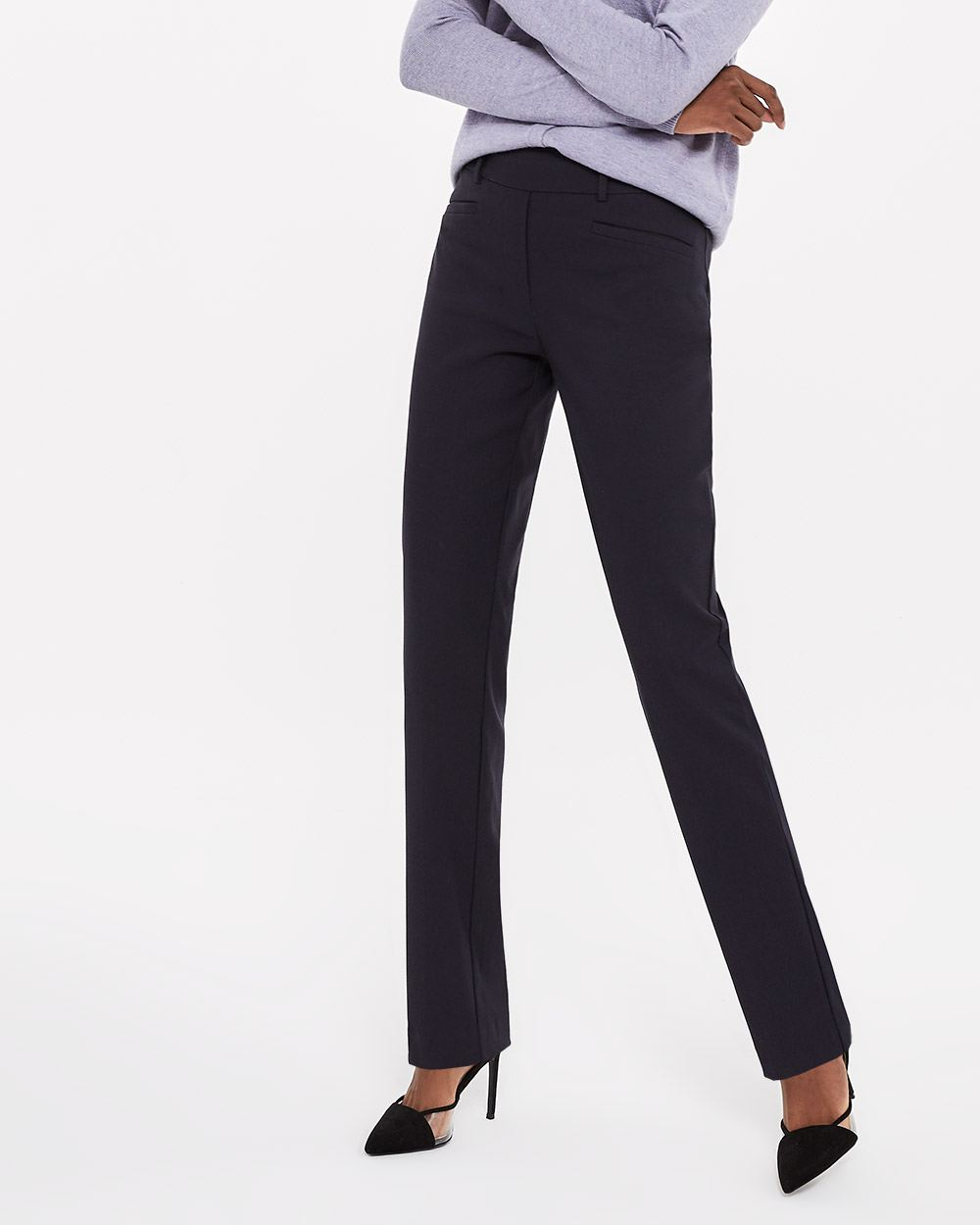 The Petite Iconic Straight Leg Pants