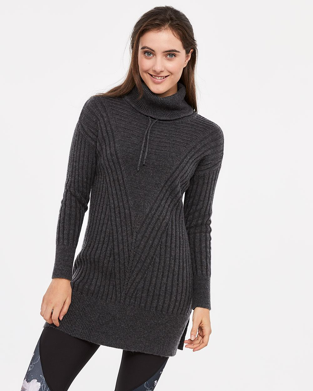 Hyba Turtleneck Tunic Sweater