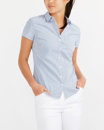R Essentials Short Sleeve Printed Shirt