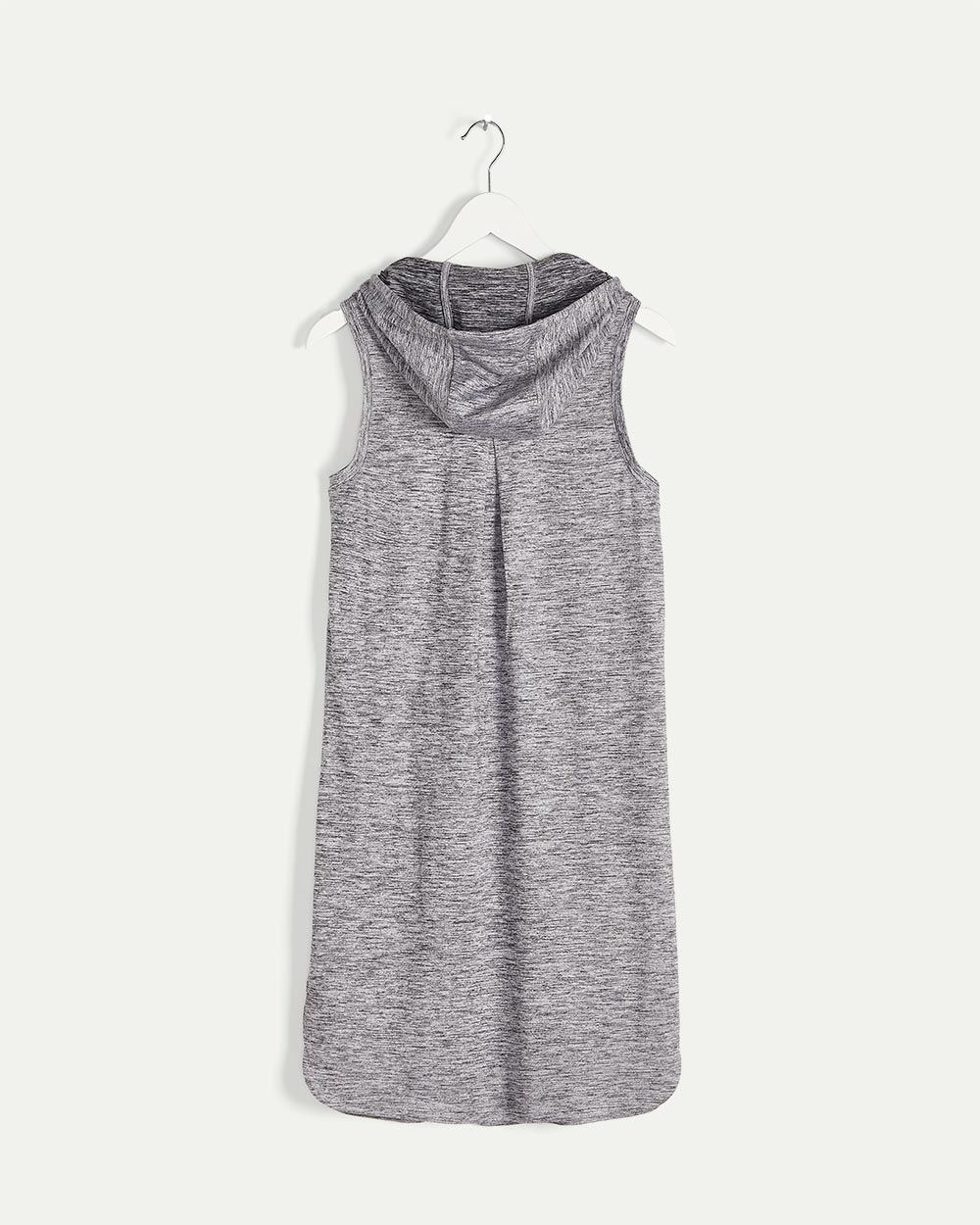 Sleeveless Hooded Dress Ultra Soft Hyba