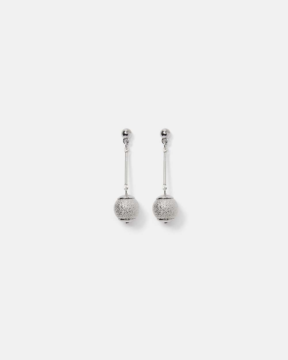 2 Tone Drop Earrings