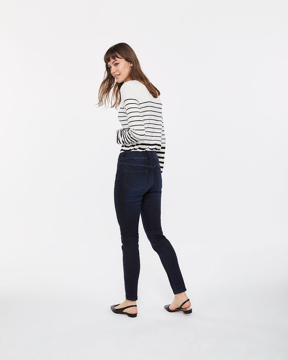Tall The Urban Contour Double Shank Skinny Jeans