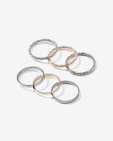 Set of 6 Rings