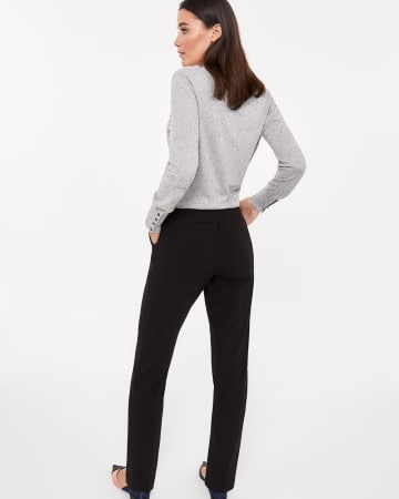 Tall Pull On Solid Pants