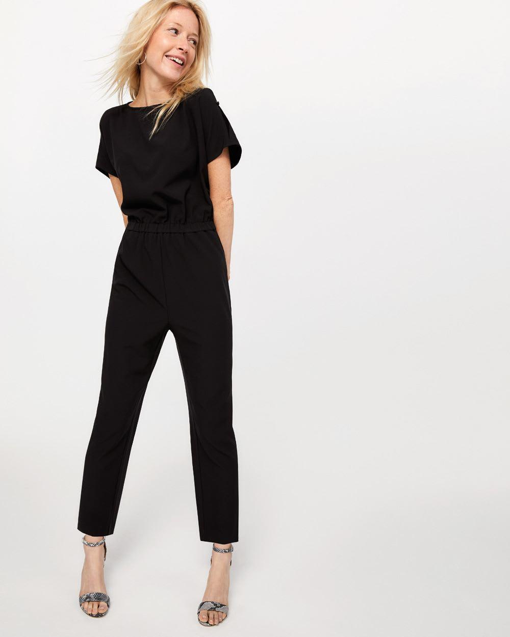terrific value fine quality great discount for Short Sleeve Jumpsuit | Regular | Reitmans