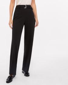 Tall Belted Wide Leg Pants