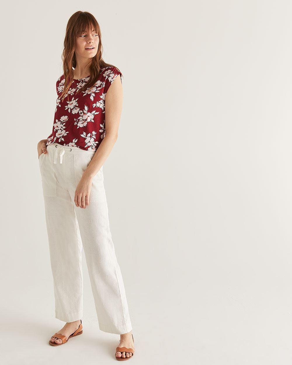 1de16a8ba2d93 Linen-Blend Wide Leg Pants - Tall | Tall | Reitmans