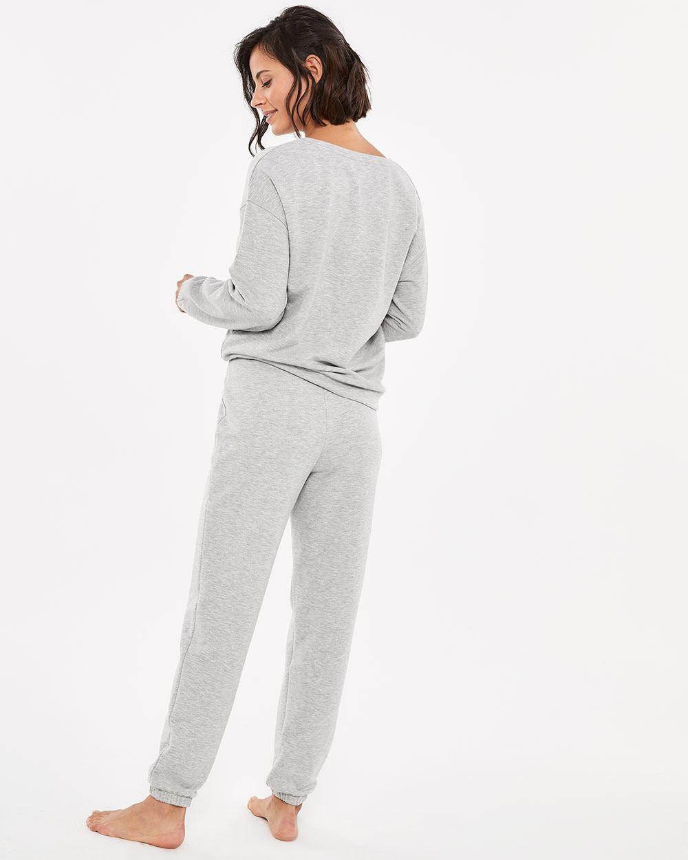 French Terry Jogger PJ Set