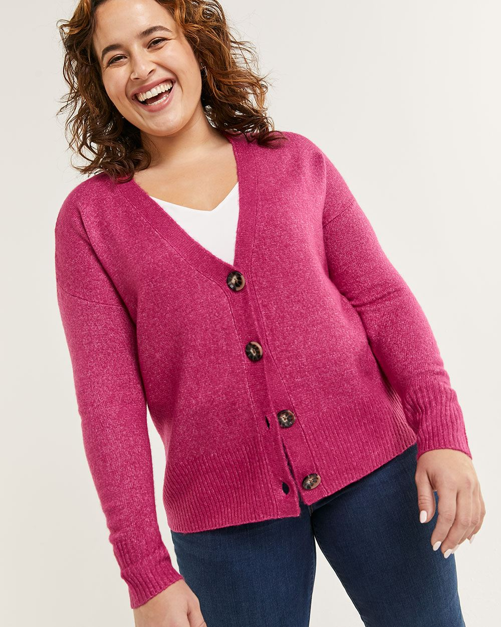 Long Sleeve Buttoned Cardigan