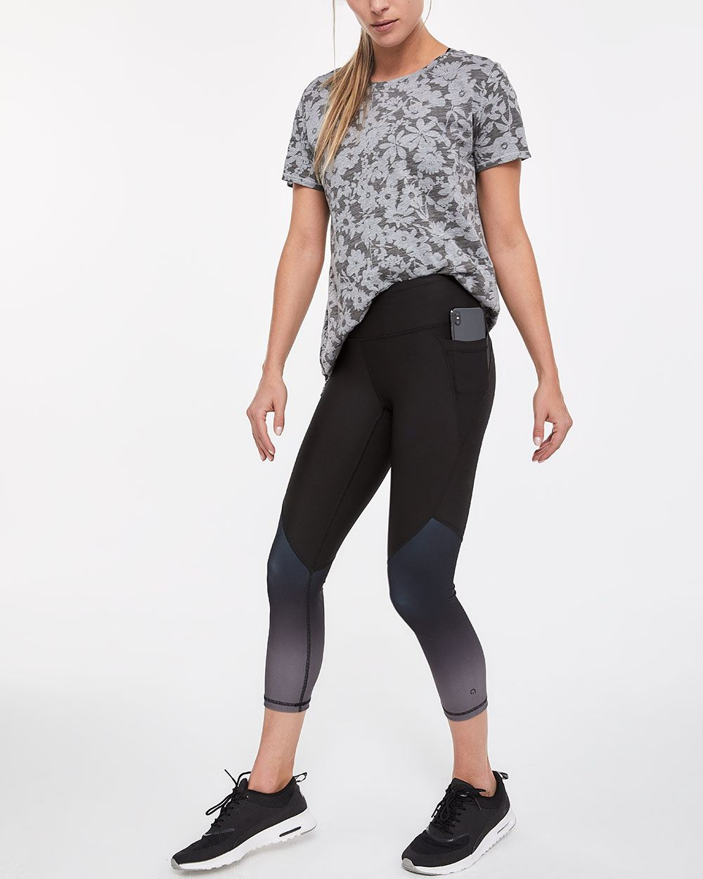 Hyba Gradient Cropped Legging