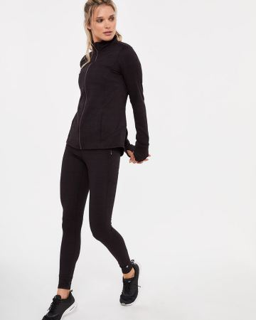 Hyba Brushed Leggings with Pockets