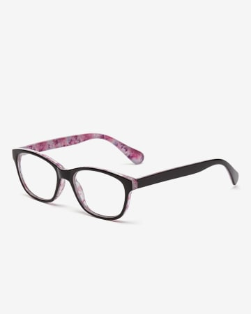 Floral Rectangle Reading Glasses