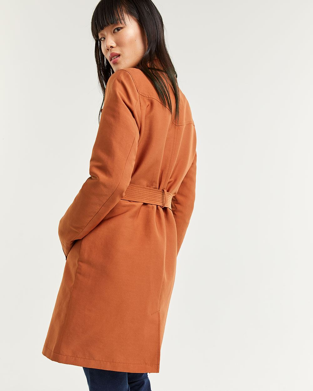 Structured Trench Coat